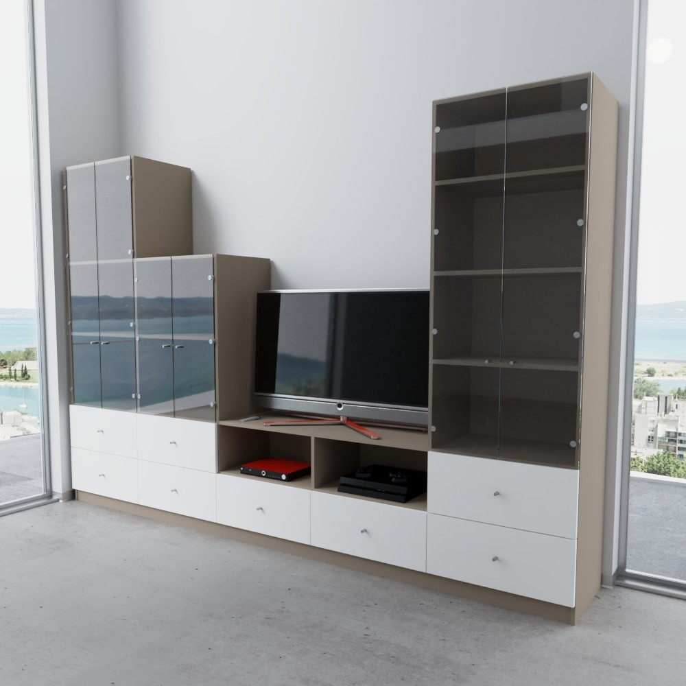 ff211041d09b78 TV Möbel nach Maß - Modell
