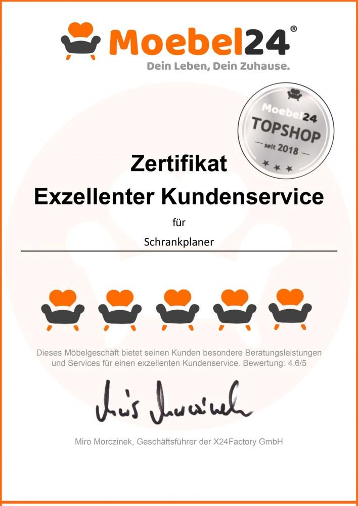 top shop zertifikat moebel24 de