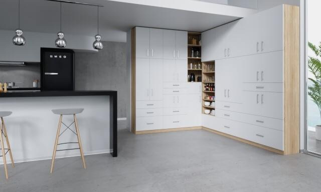k chenschrank nach ma online planen. Black Bedroom Furniture Sets. Home Design Ideas