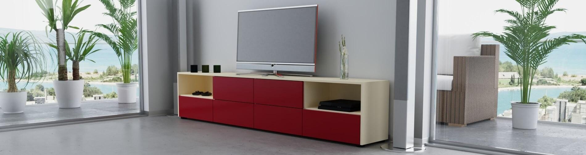 lowboard selber bauen konfigurieren. Black Bedroom Furniture Sets. Home Design Ideas