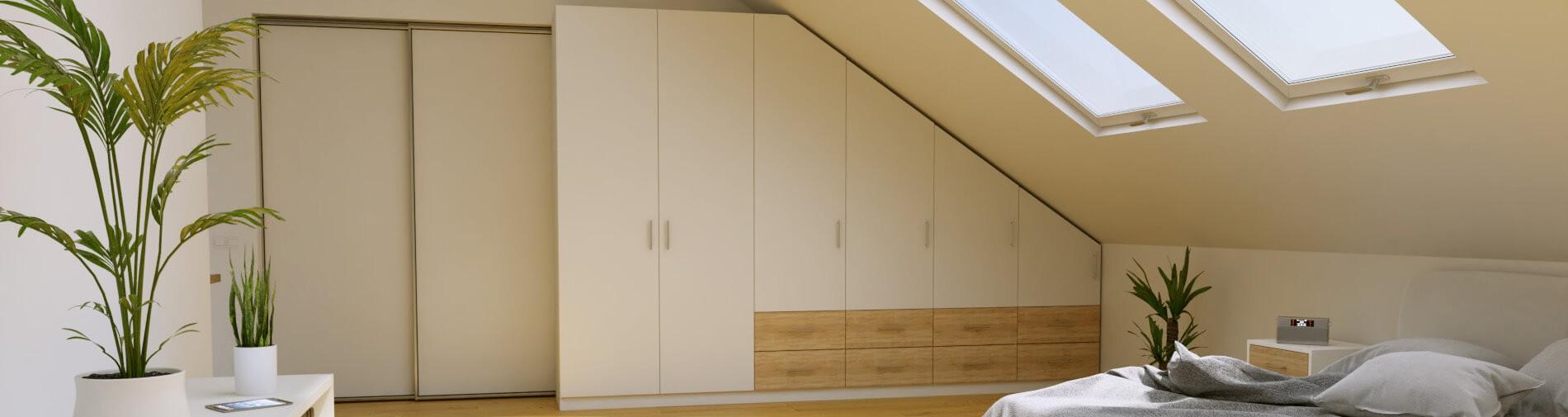 Möbel für die Dachschräge nach Maß konfigurieren | schrankplaner.de