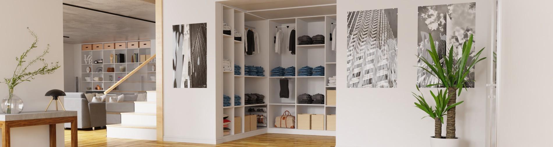 Begehbarer Kleiderschrank - System nach Maß planen ...