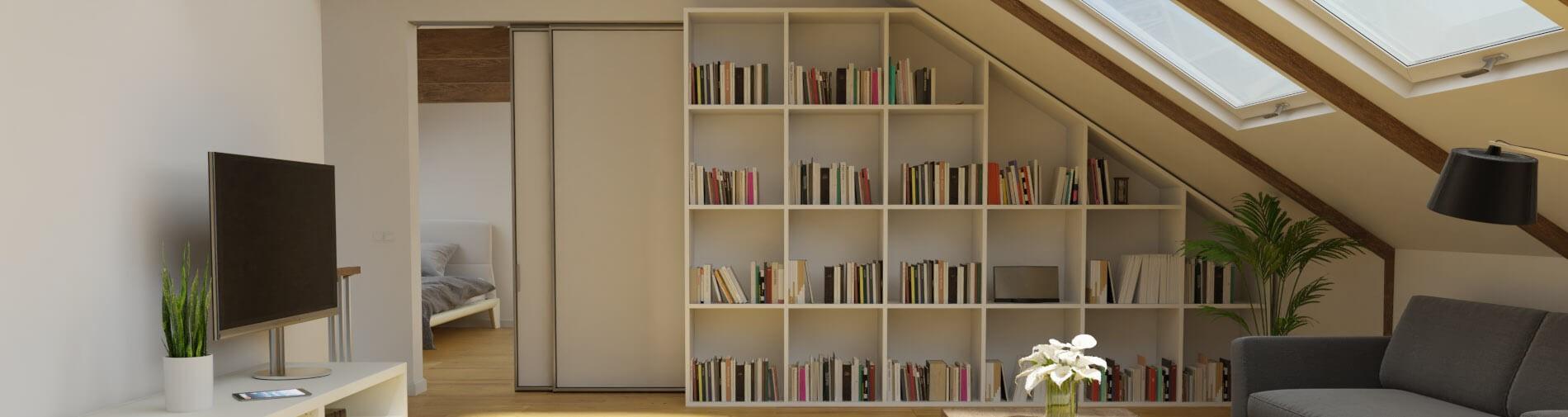 Bekannt Bücherregal zum Selberbauen passgenau von | schrankplaner.de HT81