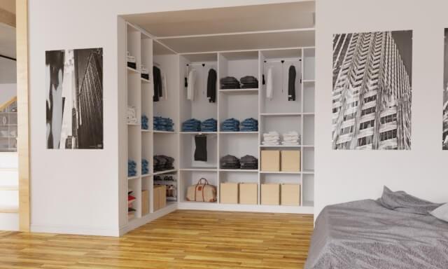 Schranksystem nach Maß für´s Schlafzimmer planen ...